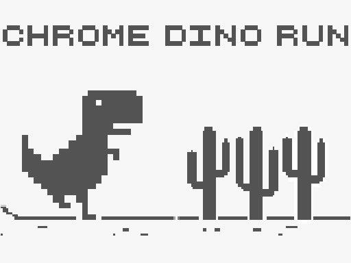 Jogo Chrome Dino Run