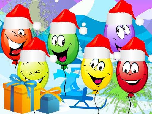 Jogo Christmas Balloons Bursting