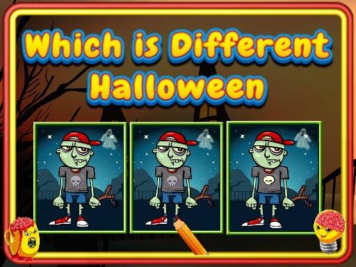 Jogo Which Is Different Halloween