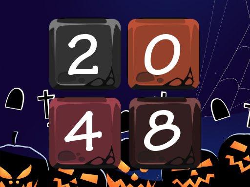 Jogo Halloween 2048