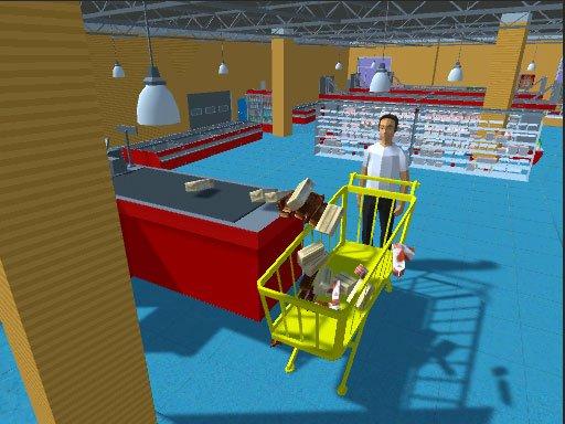 Jogo Super Market Atm Machine Simulator: Shopping Mall