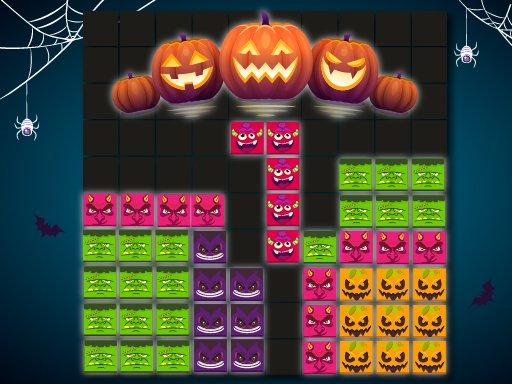 Jogo Blocks Puzzle Halloween