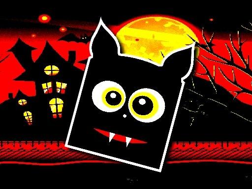 Jogo Halloween Geometry Dash