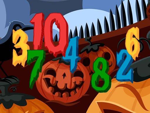Jogo Halloween Hidden Numbers