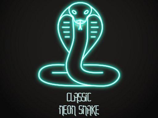 Jogo Classic Neon Snake