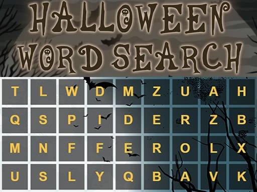 Jogo Halloween Word Search