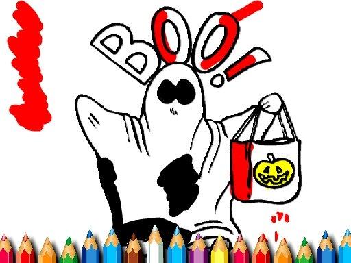 Jogo Halloween Coloring Book