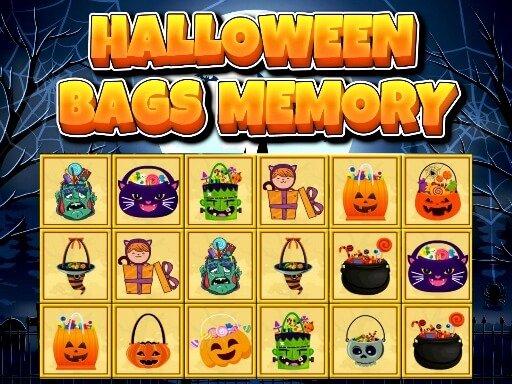 Jogo Halloween Bags Memory