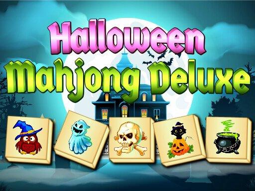 Jogo Halloween Mahjong Deluxe