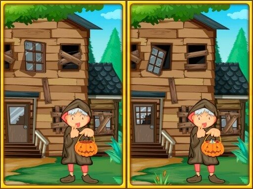 Jogo Spot The Differences Halloween