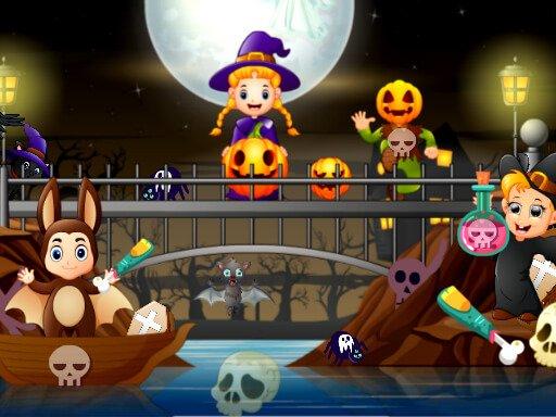 Jogo Halloween Hidden Objects