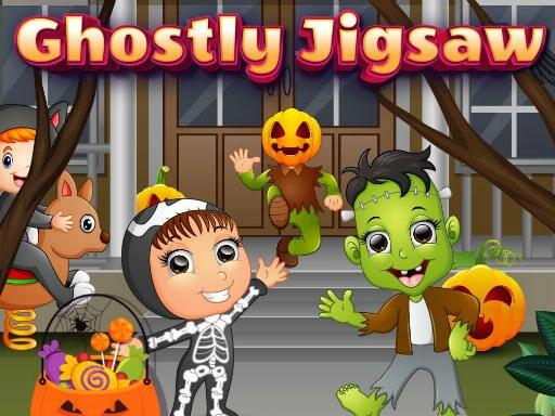 Jogo Ghostly Jigsaw