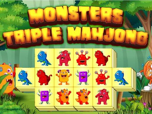 Jogo Monsters Triple Mahjong