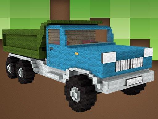 Jogo Minecraft Truck Jigsaw