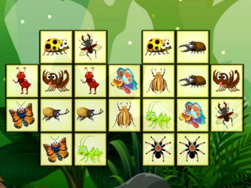 Jogo Connect The Insects