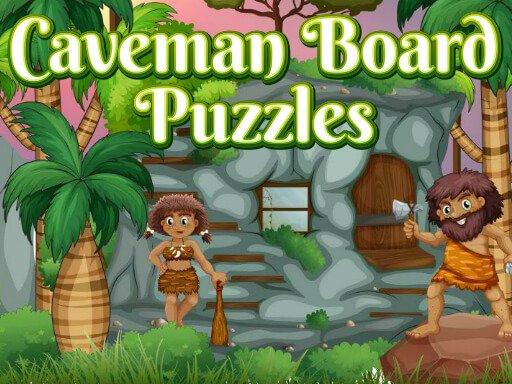 Jogo Caveman Board Puzzles