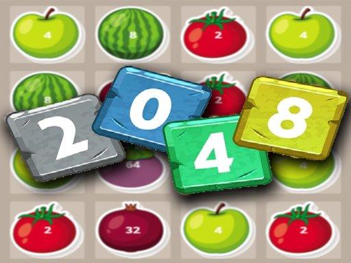 Jogo 2048 Fruits