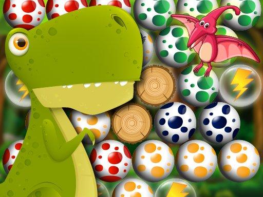 Jogo Egg Shooter Bubble Dinosaur