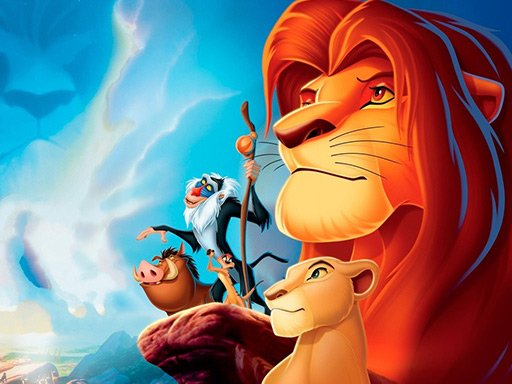 Jogo Lion King Jigsaw Puzzle Collection