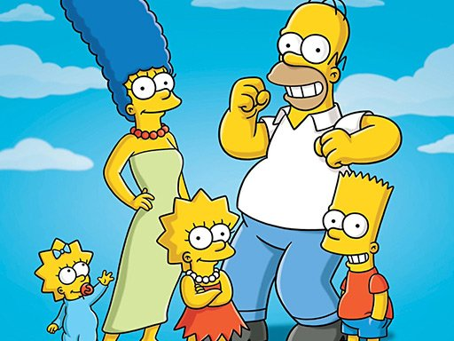 Jogo Simpsons Jigsaw Puzzle Collection