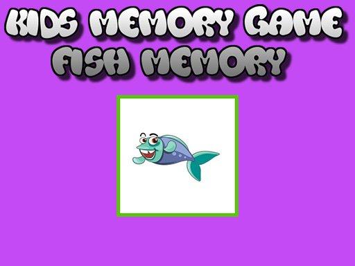 Jogo Fish Memory – Kids Learning