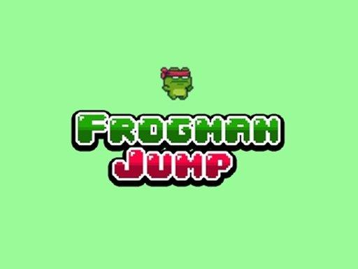 Jogo Frogman Jump