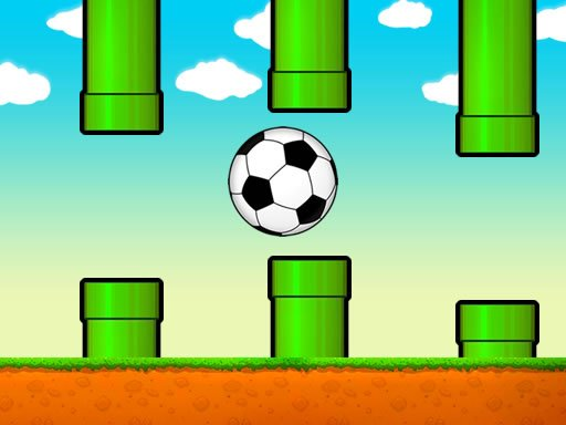 Jogo Flappy Soccer Ball