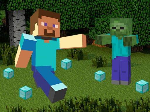 Jogo Minecraft Hidden Diamond Blocks