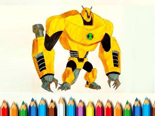 Jogo Ben10 Monsters Coloring