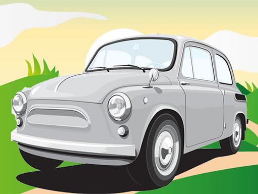 Jogo Vintage German Cars Jigsaw