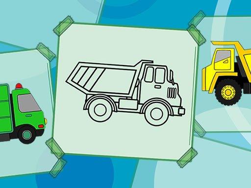 Jogo Truck Coloring Book