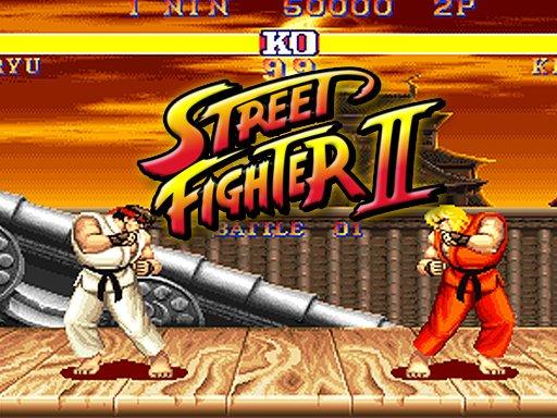 Jogo Street Fighter 2 Endless