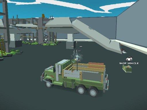 Jogo Pixel Vehicle Warfare