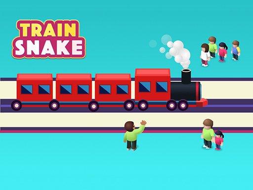 Jogo Train Snake Taxi