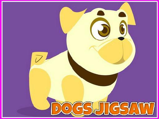 Jogo Dogs Jigsaw
