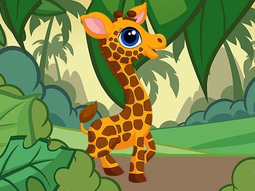 Jogo Giraffe Jigsaw
