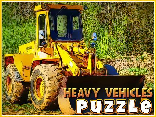 Jogo Heavy Vehicles Puzzle