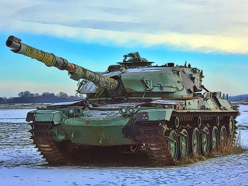 Jogo Military Tanks Jigsaw