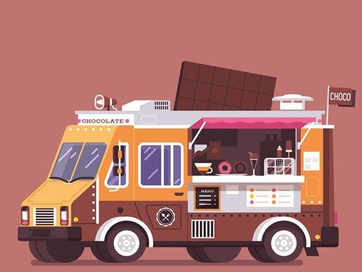 Jogo Food And Drink Trucks Memory