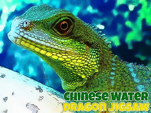 Jogo Chinese Water Dragon Jigsaw