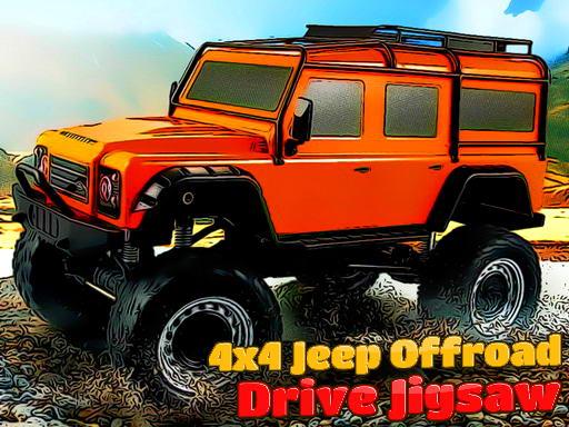 Jogo 4×4 Jeep Offroad Drive Jigsaw