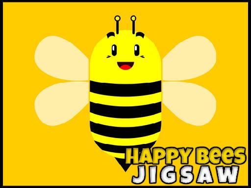 Jogo Happy Bees Jigsaw