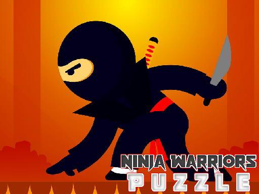 Jogo Ninja Warriors Puzzle
