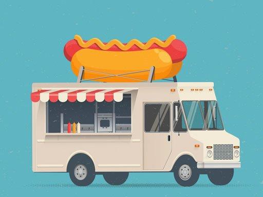 Jogo Food Trucks Jigsaw