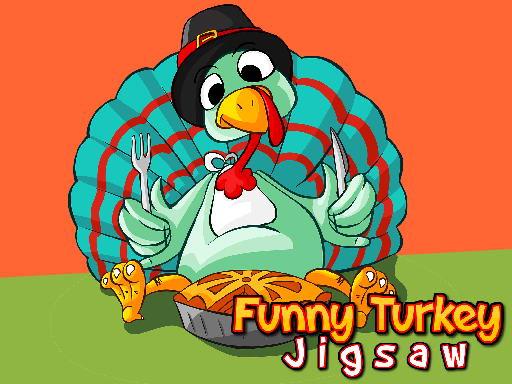 Jogo Funny Turkey Jigsaw