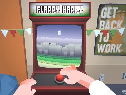 Jogo Flappy Happy Arcade