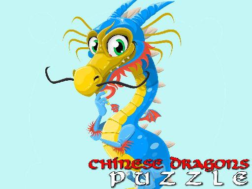 Jogo Chinese Dragons Puzzle