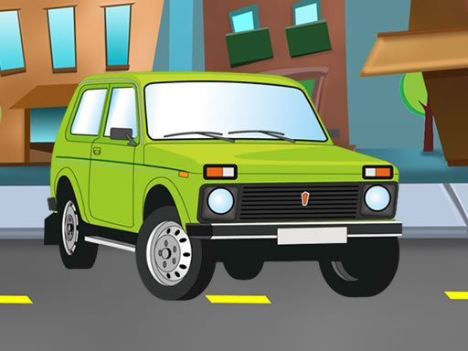 Jogo Russian Cars Differences