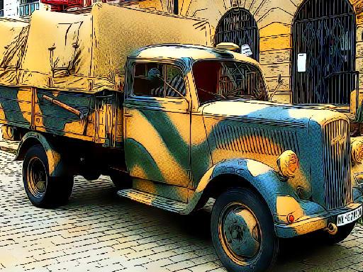 Jogo Army Trucks Jigsaw