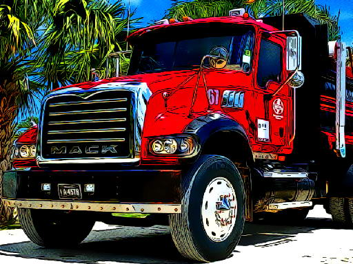 Jogo American Trucks Jigsaw